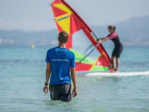 Private Lesson Beginner to improve Windsurfing for children