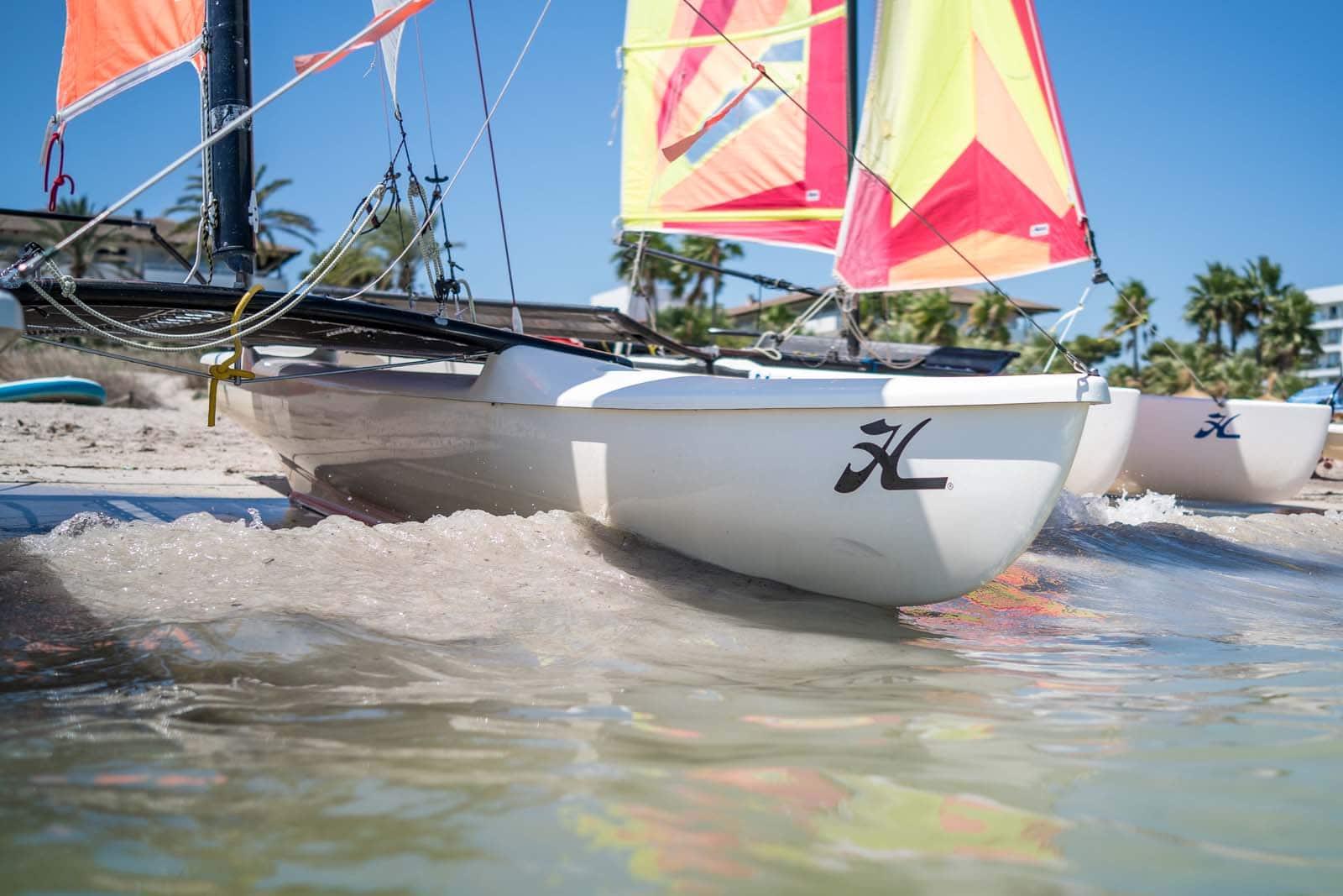 alquiler catamaran mallorca en la bahia de alcudia - Facilities