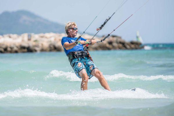 Kitesurfing trial lesson in mallorca