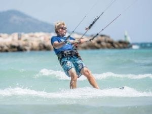 Kitesurfing trial lesson in mallorca