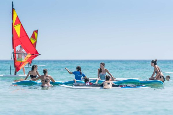 Paddle Surfing Improvement Course in Mallorca