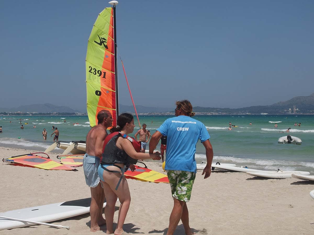 deporte accesible windsurf mallorca 2 - Accessible Sports