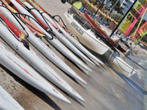 Instalaciones de la escuela de Windsurf en Alcudia watersportsmallorca