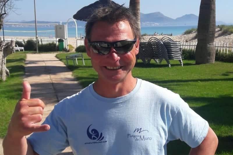 markus es monitor en la escuela de kitesurf de alcudia - Team