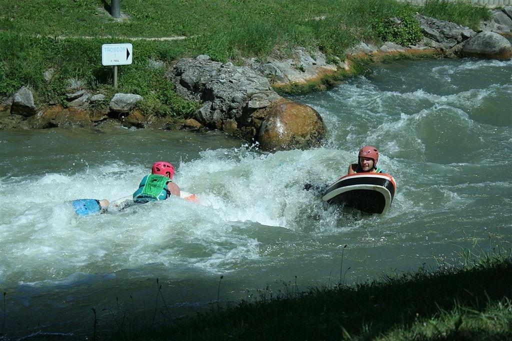 Hydrospeed ou nage en eau vive sur la Nive avec Ur bizia Rafting 1 - Hidrospeed