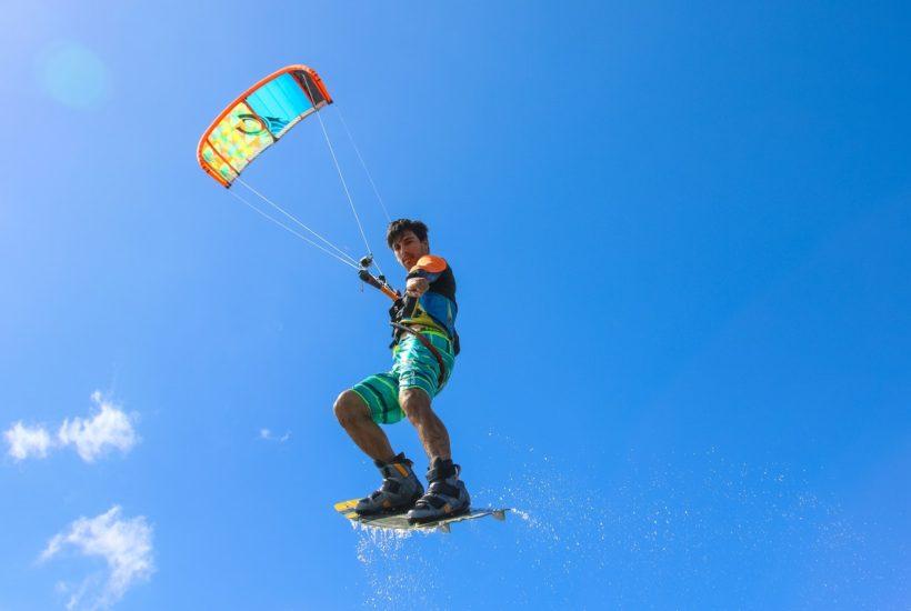 Kitesurfen ausrüstung